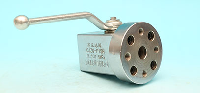 High pressure hydraulic ball valve series