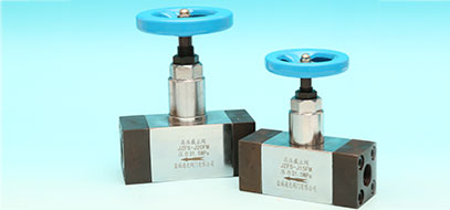 High pressure shut-off valve series
