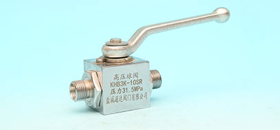 Three-way high pressure ball valve series
