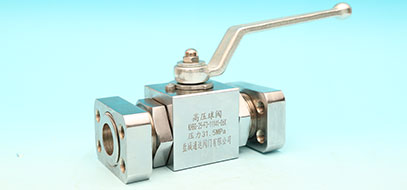 Flanged high pressure ball valve series