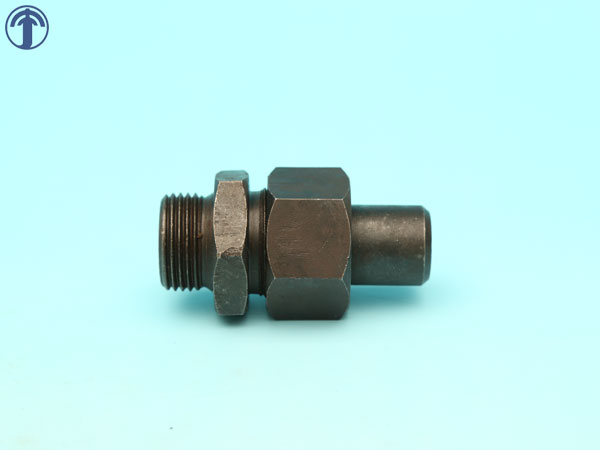Welded high pressure pipe joint - end straight join